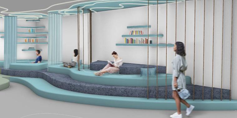 La bibliothèque d'Alice Vanlian et Anne-Toscane Puiseux - LISAA x FORBO