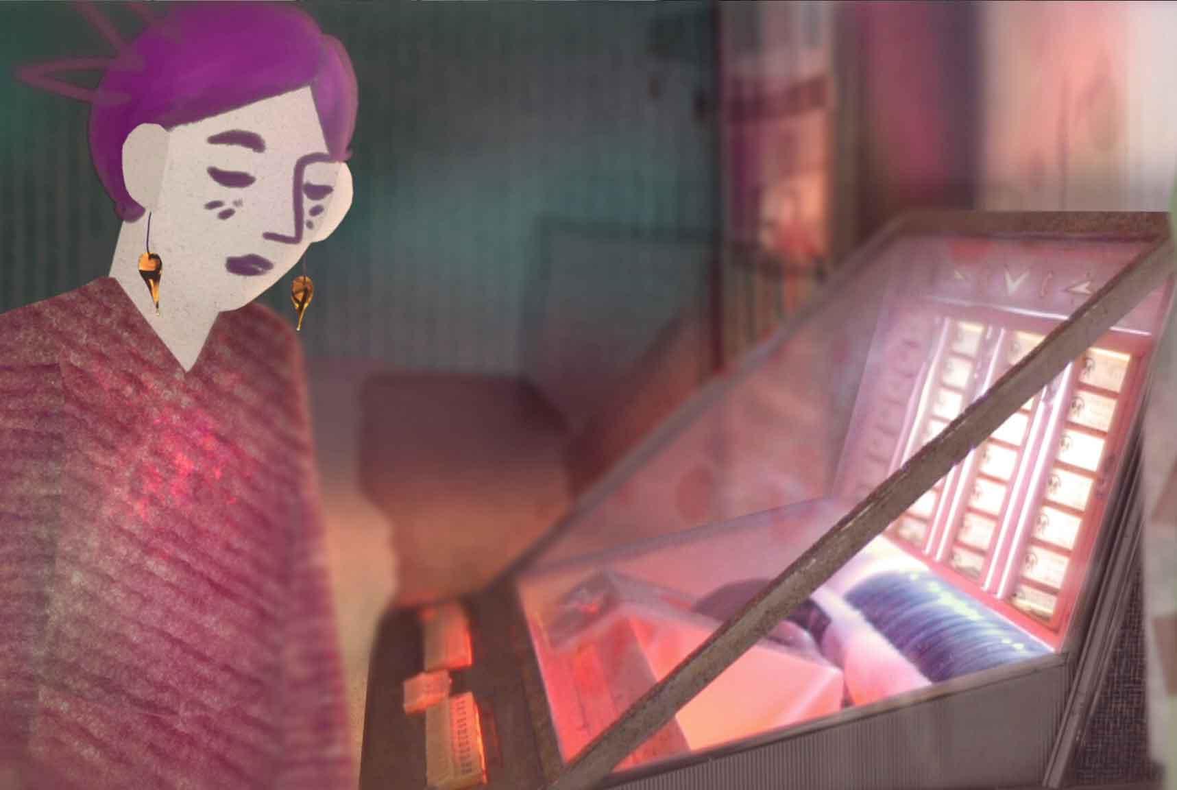 Florentine Grelier, invitée de LISAA Animation