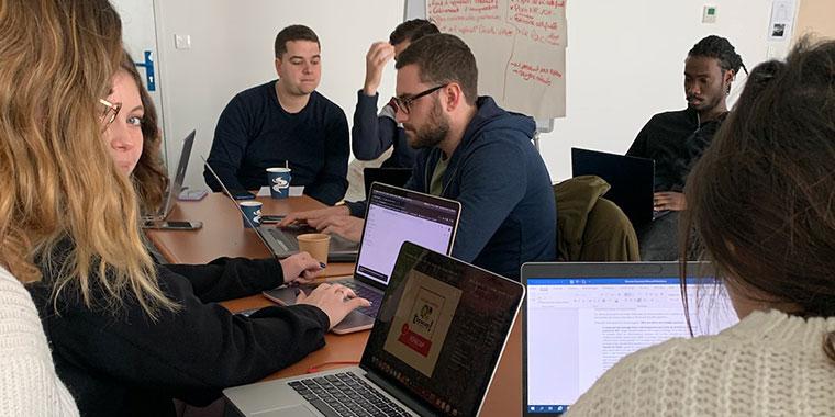 Hackathon LISAA Bordeaux en architecture d'intérieur & design