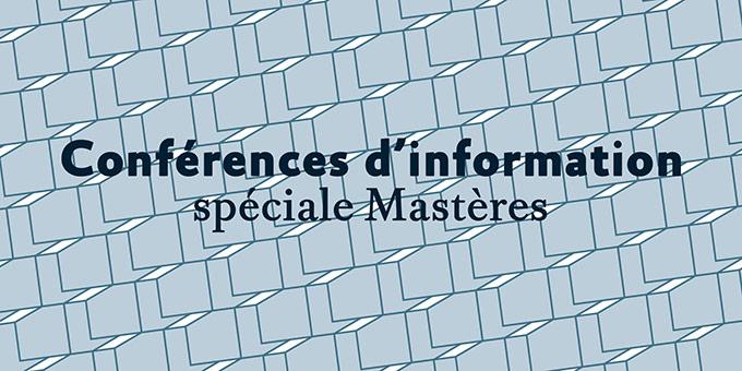 Conférence d'information mastères | LISAA
