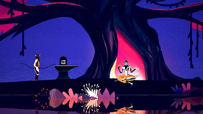 Sadhana jeu vidéo de Ana Maria De Jesus