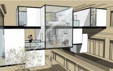Laurie Cerra - Projet le Bon Marché - Archi design