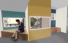 Alix Eschasseriaux - Projet le Bon Marché - Archi design