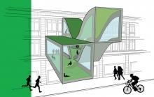 Auxane Gloanec - Projet le Bon Marché - Archi design