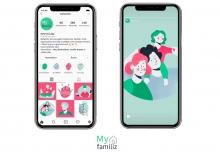 Start-up Myfamiliz- Agence Red CHILI de Alizée Doineau, Claire Moine et Anais Hamon