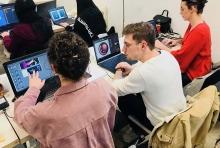 Les étudiants de LISAA Rennes s'exercent à la réalité augmentée