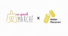 Un Grand Marché - Agence Macaroni de Sarah Vermauwt et Juliette Morillon