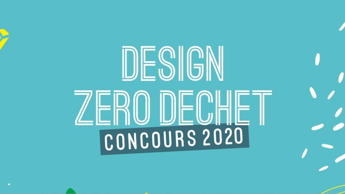 Concours Design zéro déchet 2020